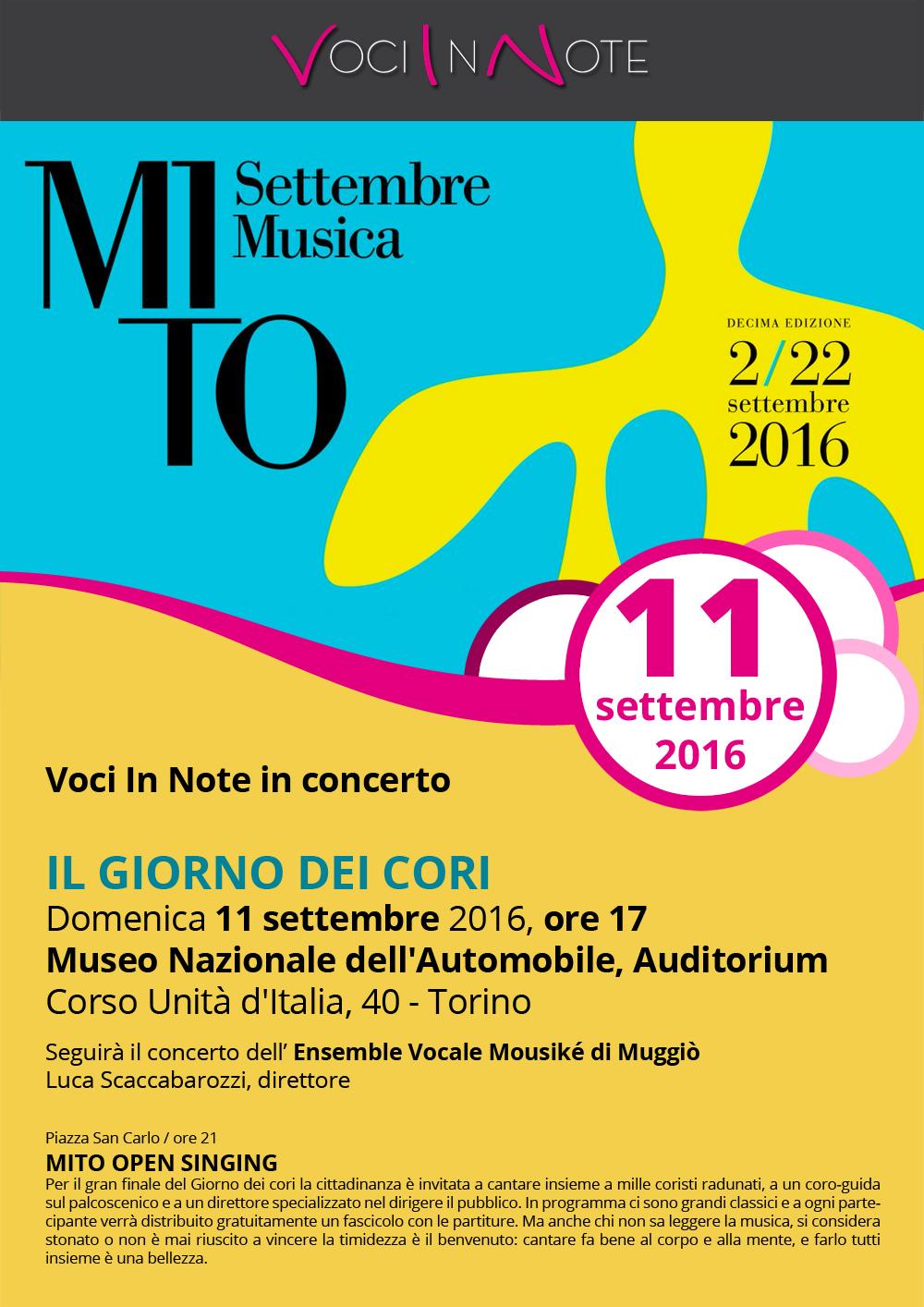 Concerto MITO Settembre Musica